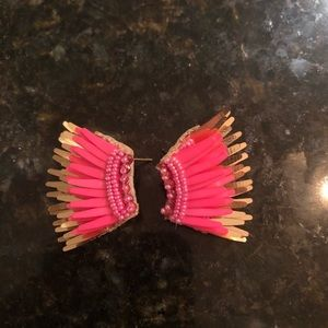 Mignonne Gavigan hot pink mini Madeline worn once